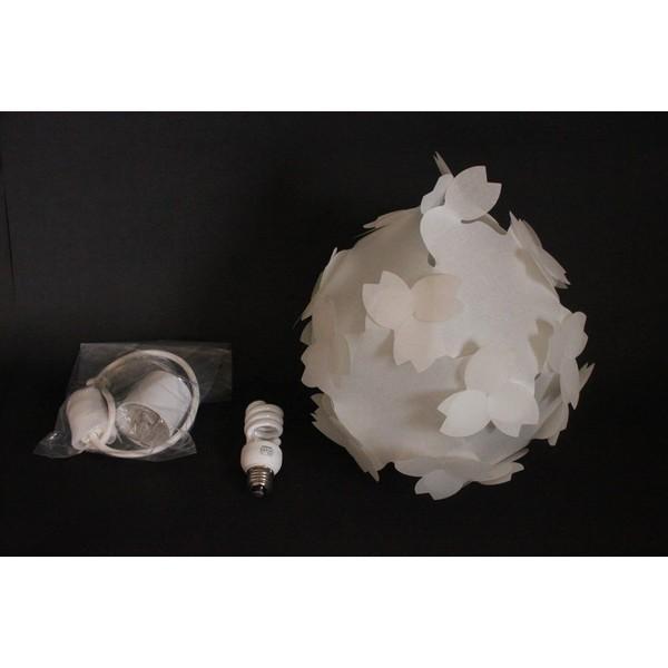 ペンダトライト 天井照明 - 北欧モダン和風和紙おしゃれ さくらカバーシェード - LED対応 本体組立出荷 照明器具コハルライト|product-factory-jp|06