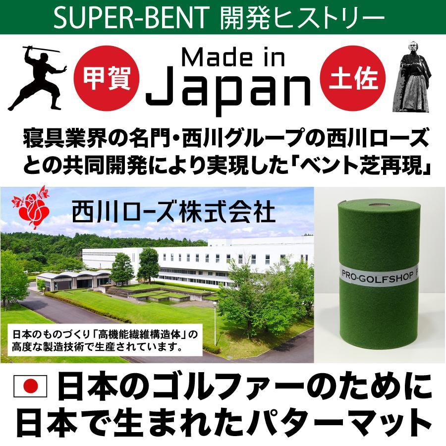 日本製 パターマット工房 45cm×5m SUPER-BENTパターマット 距離感マスターカップ付き progolf 16