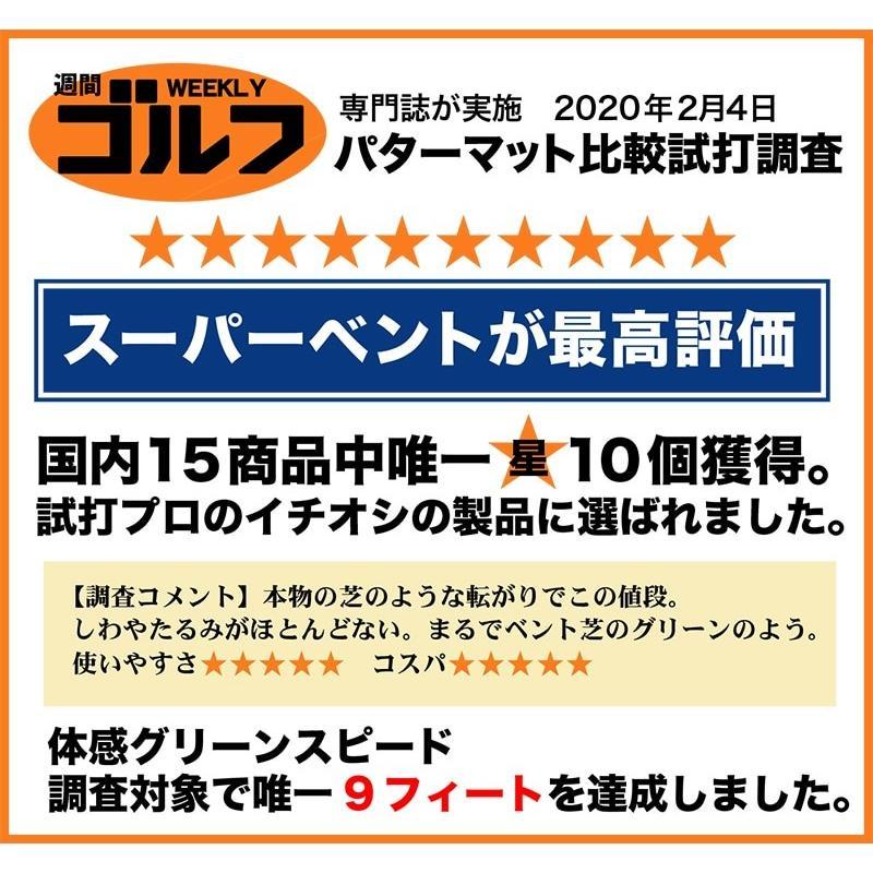 日本製 パターマット工房 45cm×5m SUPER-BENTパターマット 距離感マスターカップ付き progolf 20