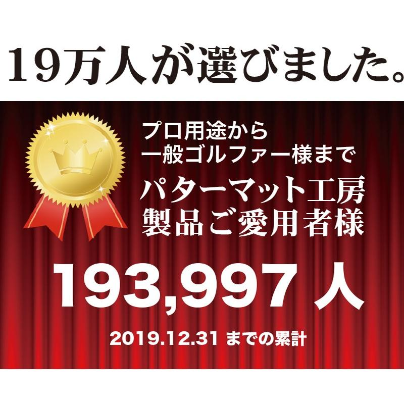 日本製 パターマット工房 45cm×5m SUPER-BENTパターマット 距離感マスターカップ付き progolf 05