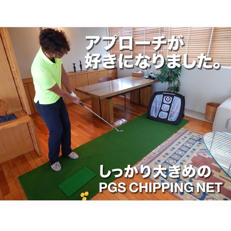 アプローチ 練習ネット PGSチッピングネット ゴルフ 練習|progolf|18