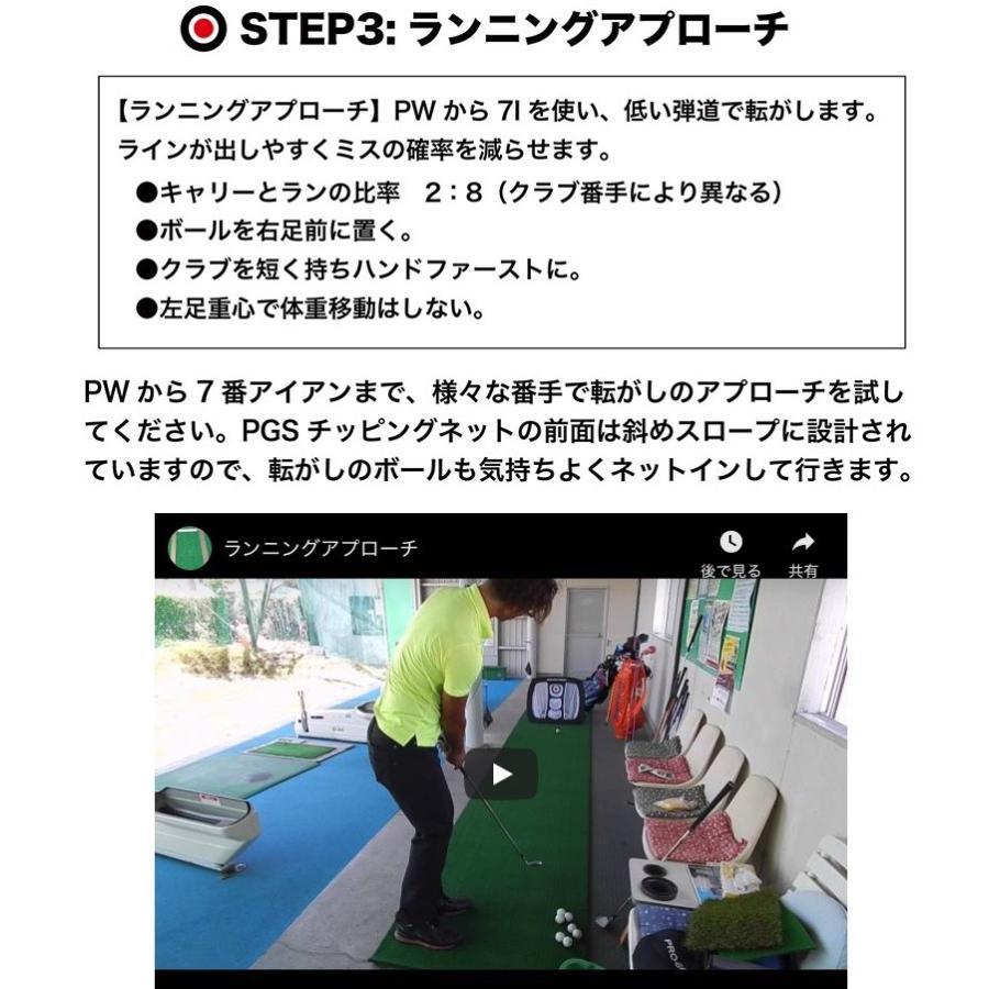 アプローチ 練習ネット PGSチッピングネット ゴルフ 練習|progolf|07