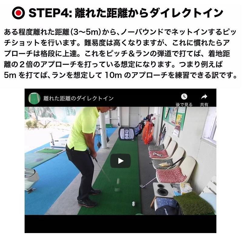 アプローチ 練習ネット PGSチッピングネット ゴルフ 練習|progolf|09