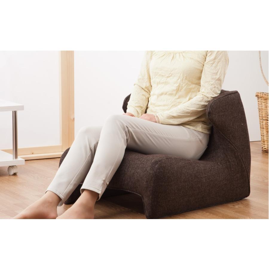 匠の腰楽座椅子 コンフォシート 座椅子 腰痛 椅子 テレワーク 在宅勤務 姿勢 骨盤 プロイデア proidea 05