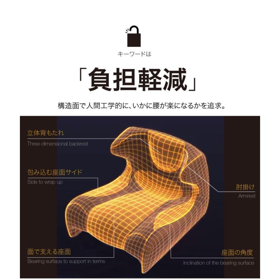 匠の腰楽座椅子 コンフォシート 座椅子 腰痛 椅子 テレワーク 在宅勤務 姿勢 骨盤 プロイデア proidea 07
