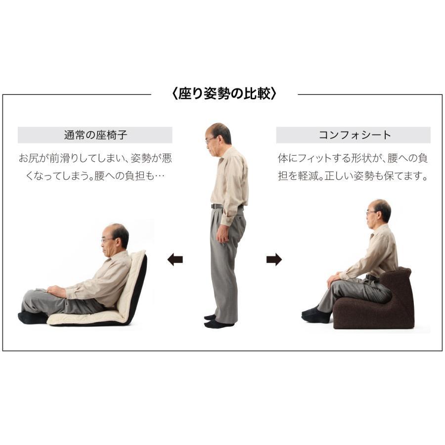 匠の腰楽座椅子 コンフォシート 座椅子 腰痛 椅子 テレワーク 在宅勤務 姿勢 骨盤 プロイデア proidea 10