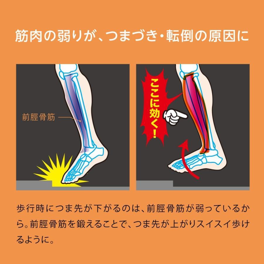 ららふる フットダンベル フレイル対策 シルバー向けトレニーニング 簡単 歩く 歩行 鍛える 足 筋肉 プロイデア proidea 03