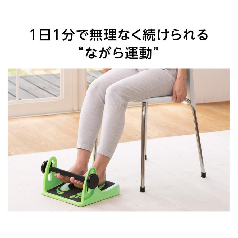 ららふる フットダンベル フレイル対策 シルバー向けトレニーニング 簡単 歩く 歩行 鍛える 足 筋肉 プロイデア proidea 05