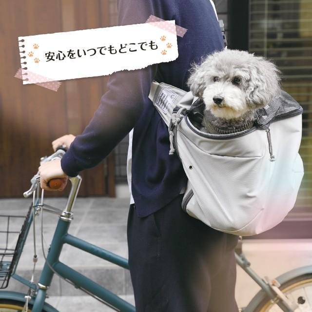 バック型ペットキャリー TENT SLING テントスリング ペットキャリーバッグ  散歩 お出かけ メッシュ 小型犬 猫 リオニマル プロイデア proidea 12