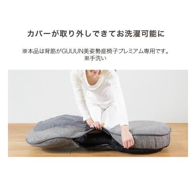 背筋がGUUUN 美姿勢座椅子プレミアム 座椅子 姿勢 腰痛 テレワーク 骨盤 リクライニング グーン プロイデア|proidea|09