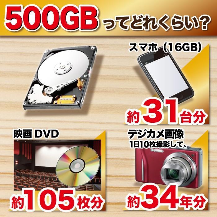 中古パソコン デスクトップパソコン MicrosoftOffice2019 Windows10 第三世代Corei5 大容量HDD500GB 4GBメモリ DVD USB3.0 DELL HP NEC 富士通 アウトレット project-a 05