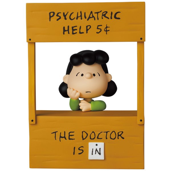UDF PEANUTS SERIES 12 PSYCHIATRIC HELP LUCY project1-6
