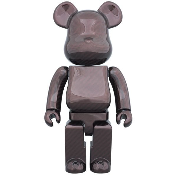 BE@RBRICK 400% DRY CARBON RED|project1-6