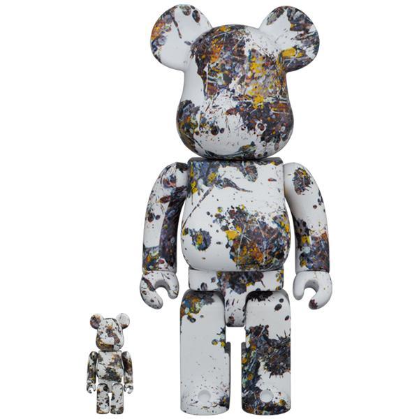 BE@RBRICK Jackson Pollock Studio(SPLASH) 100% & 400%|project1-6