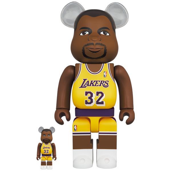 BE@RBRICK Magic Johnson (Los Angeles Lakers) 100% & 400%|project1-6