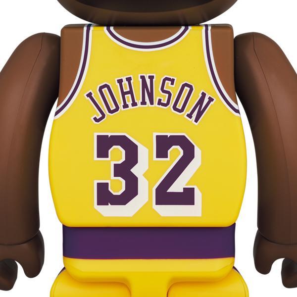 BE@RBRICK Magic Johnson (Los Angeles Lakers) 100% & 400%|project1-6|02