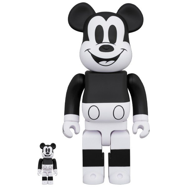BE@RBRICK MICKEY MOUSE (B&W 2020 Ver.)100% & 400%|project1-6