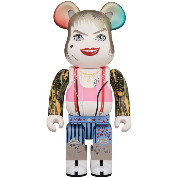 BE@RBRICK HARLEY QUINN 400% project1-6