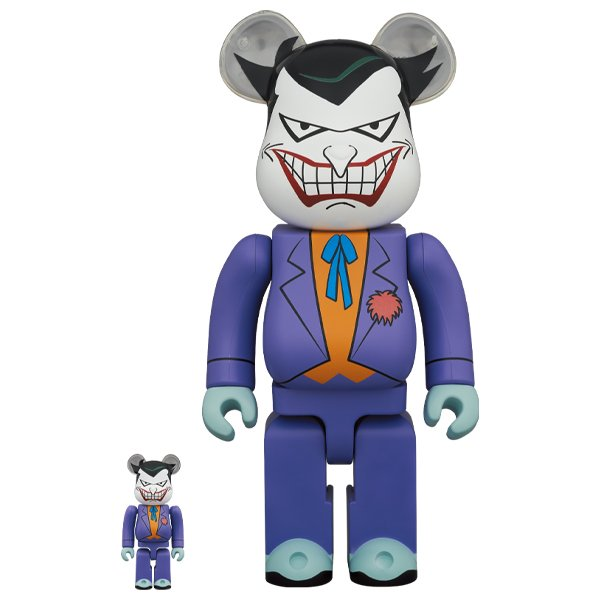 BE@RBRICK THE JOKER (BATMAN The Animated Series Ver.) 100% & 400% project1-6
