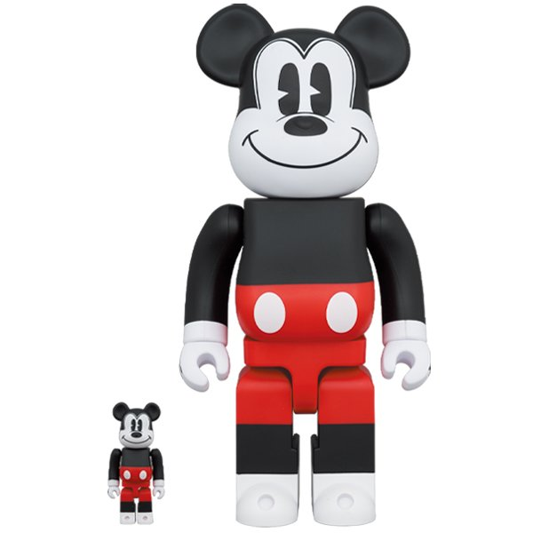 BE@RBRICK MICKEY MOUSE (R&W 2020 Ver.) 100% & 400%|project1-6