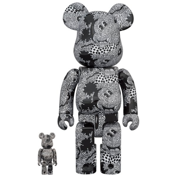 BE@RBRICK Keith Haring Mickey Mouse 100% & 400% project1-6