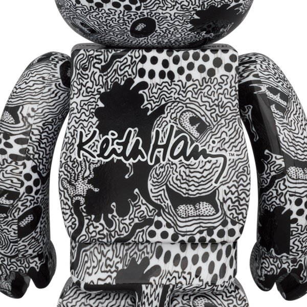 BE@RBRICK Keith Haring Mickey Mouse 100% & 400% project1-6 02