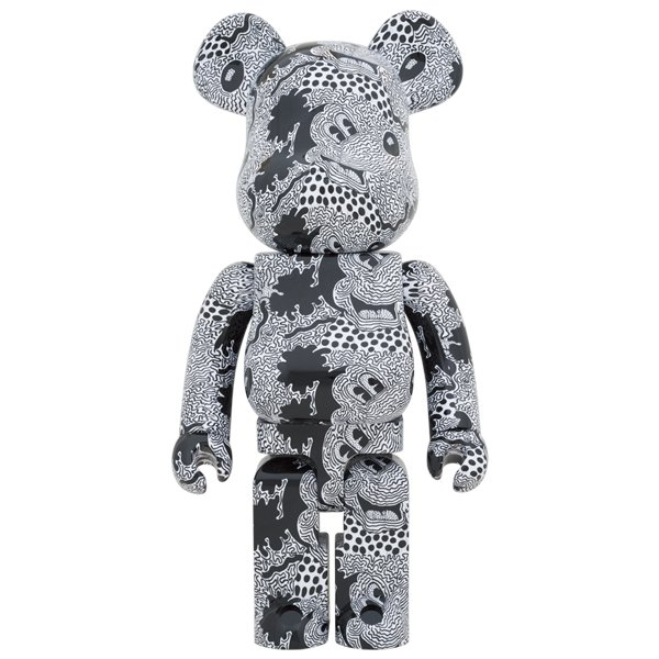 BE@RBRICK Keith Haring Mickey Mouse 1000% project1-6