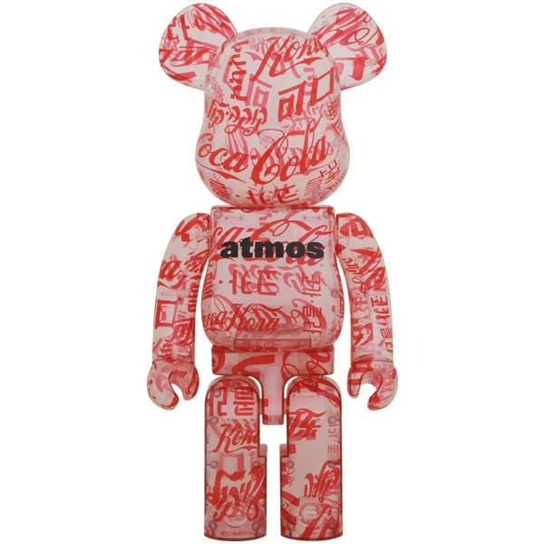 BE@RBRICK atmos × Coca-Cola 1000% CLEAR BODY|project1-6