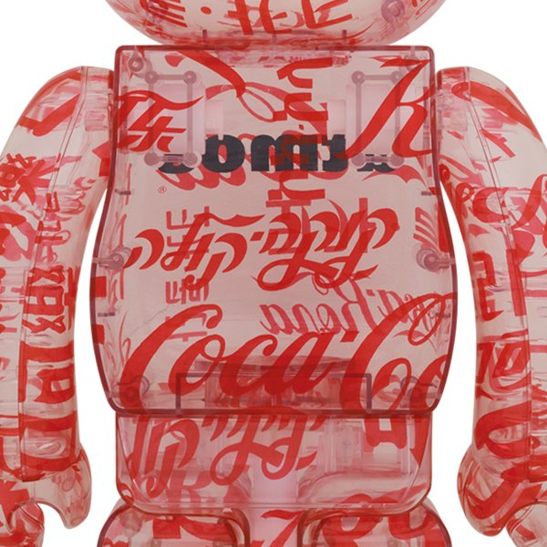 BE@RBRICK atmos × Coca-Cola 1000% CLEAR BODY|project1-6|02