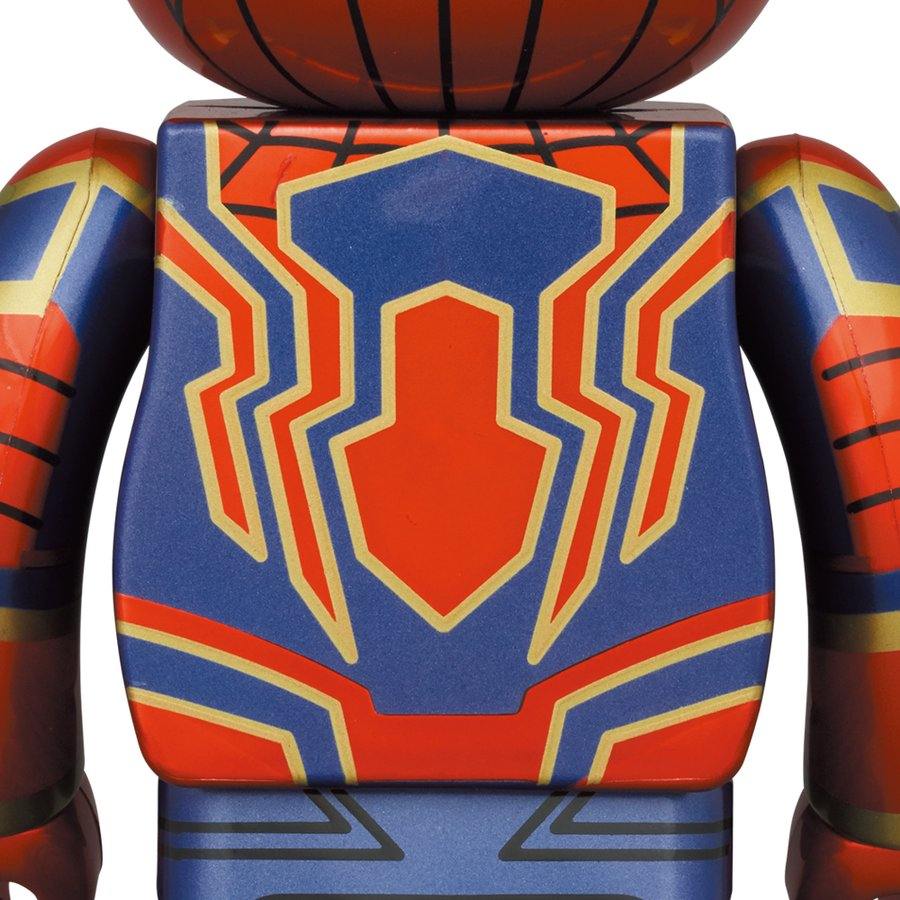 BE@RBRICK IRON SPIDER 100% & 400%|project1-6|02
