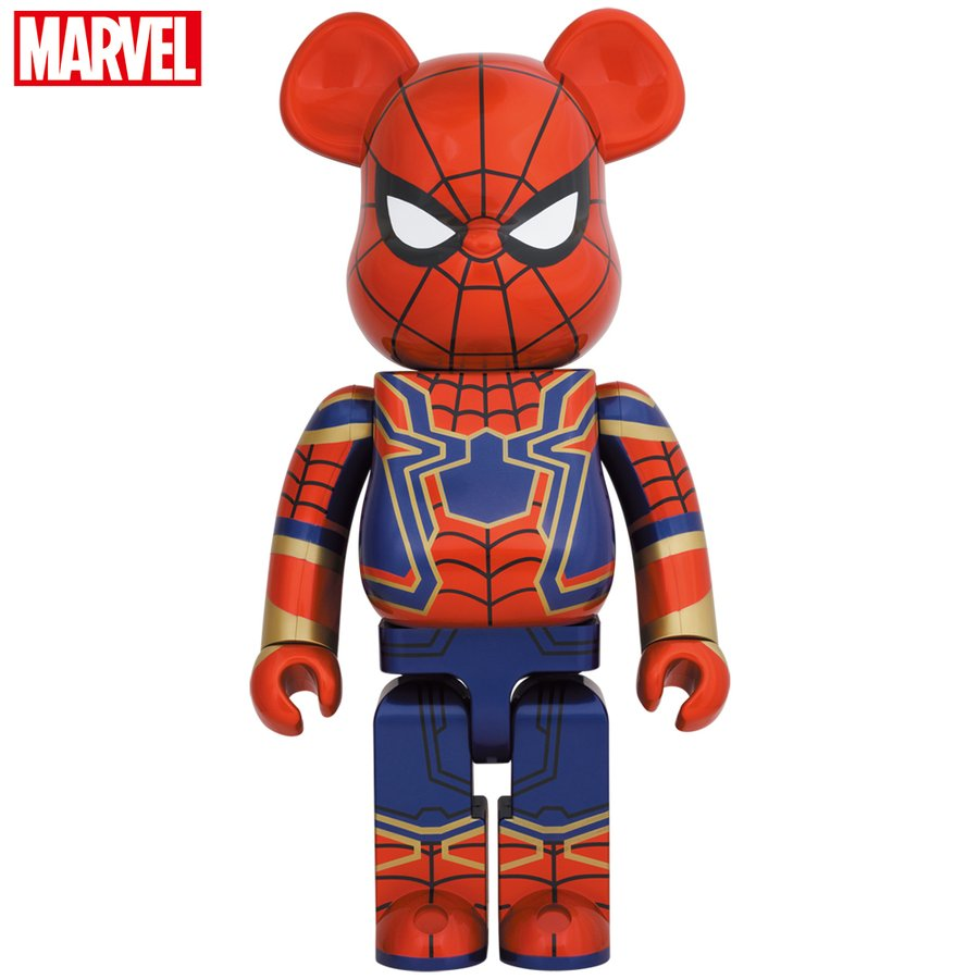 BE@RBRICK IRON SPIDER 1000%|project1-6
