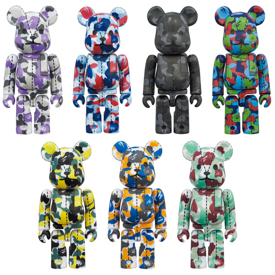 A BATHING APE(R) 28TH ANNIVERSARY BE@RBRICK BAPE CAMO #1|project1-6