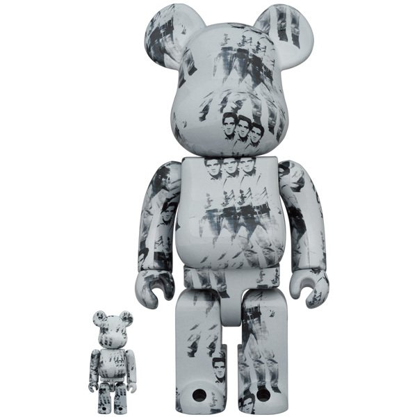 BE@RBRICK Andy Warhol's ELVIS PRESLEY 100% & 400%|project1-6