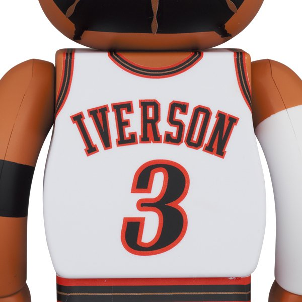 BE@RBRICK Allen Iverson (Philadelphia 76ers)100% & 400%《2021年4月発売・発送予定》|project1-6|02