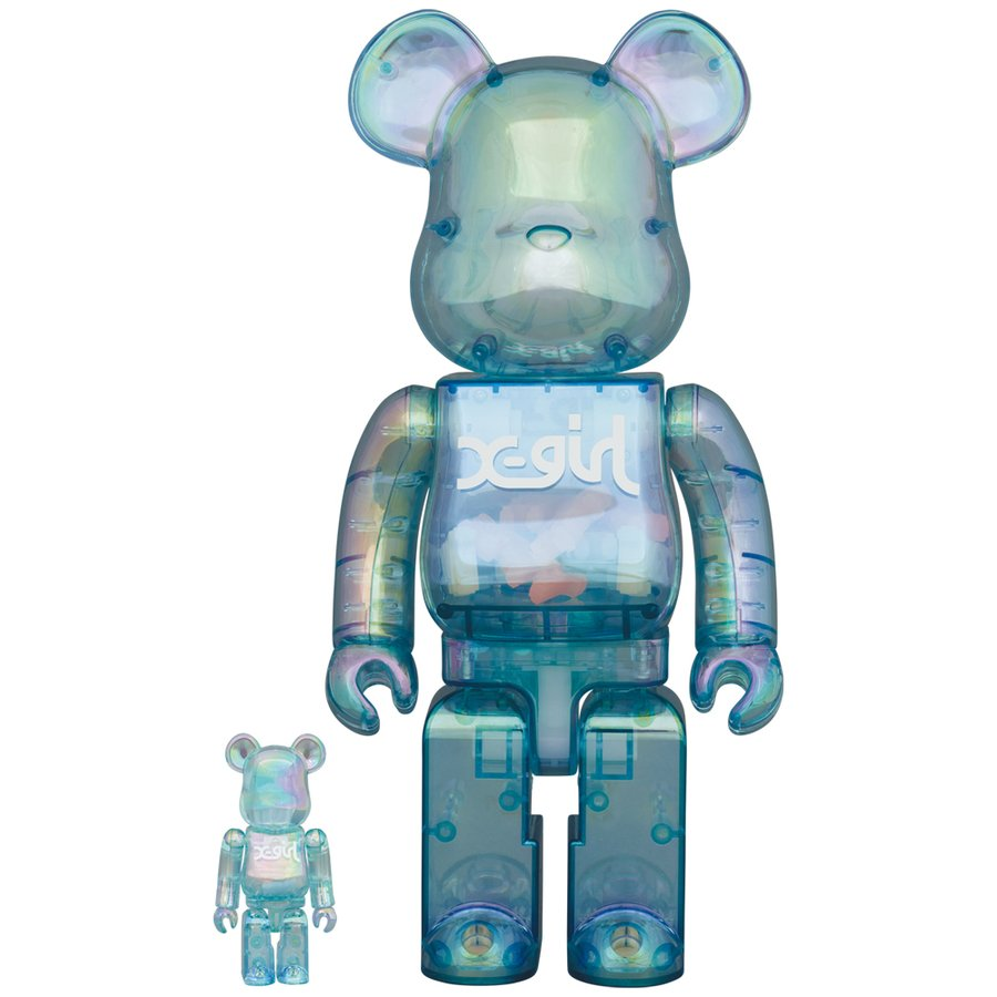 BE@RBRICK X-girl 2021 100% & 400%|project1-6