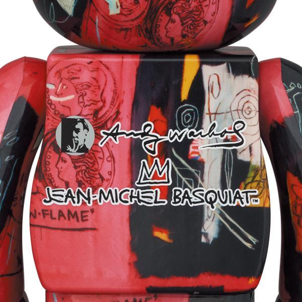 BE@RBRICK Andy Warhol × JEAN-MICHEL BASQUIAT #1 100% & 400% project1-6 02