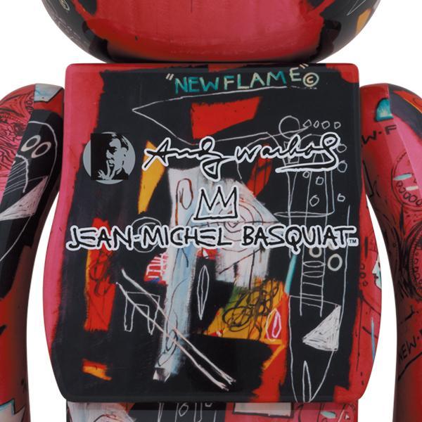 BE@RBRICK Andy Warhol × JEAN-MICHEL BASQUIAT #1 1000%|project1-6|02