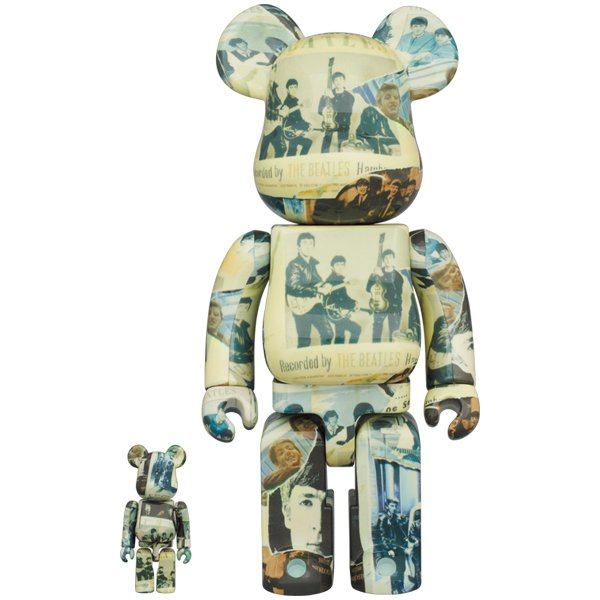 BE@RBRICK The Beatles 'Anthology' 100% & 400% project1-6