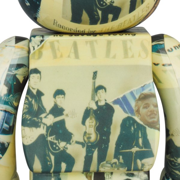 BE@RBRICK The Beatles 'Anthology' 100% & 400% project1-6 02