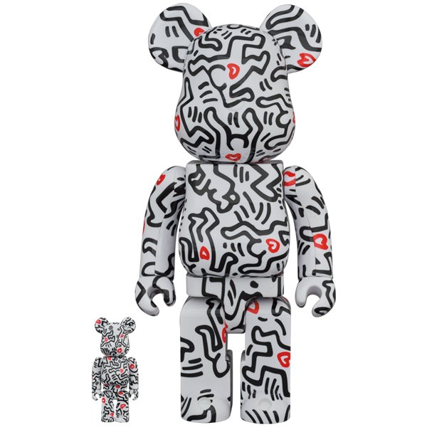 BE@RBRICK KEITH HARING #8 100% & 400%|project1-6