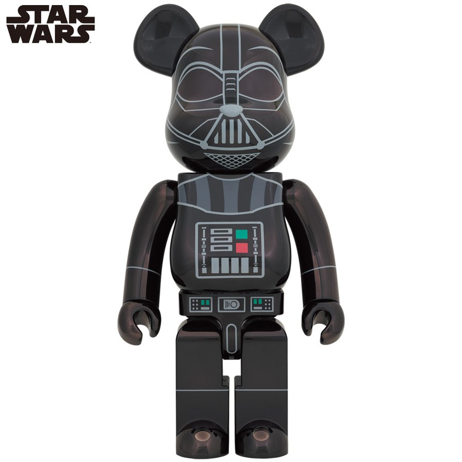 BE@RBRICK DARTH VADER(Rogue One Ver.) Chrome Ver.1000% project1-6