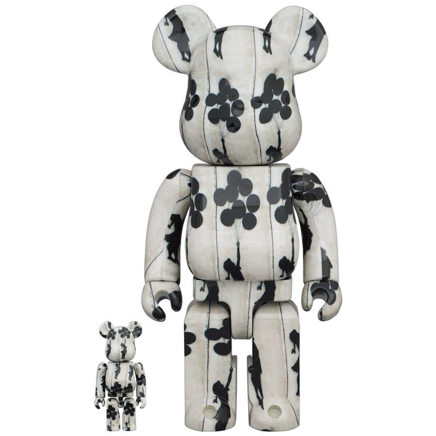 BE@RBRICK Flying Balloons Girl 100% & 400% project1-6