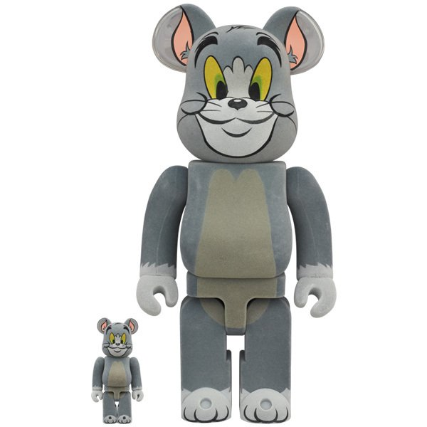 BE@RBRICK TOM フロッキー Ver. 100% & 400%(TOM AND JERRY)|project1-6