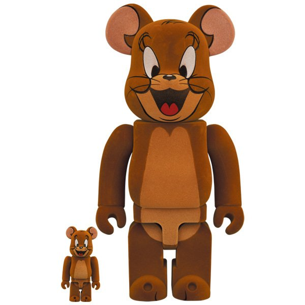 BE@RBRICK JERRY フロッキー Ver. 100% & 400%(TOM AND JERRY)|project1-6
