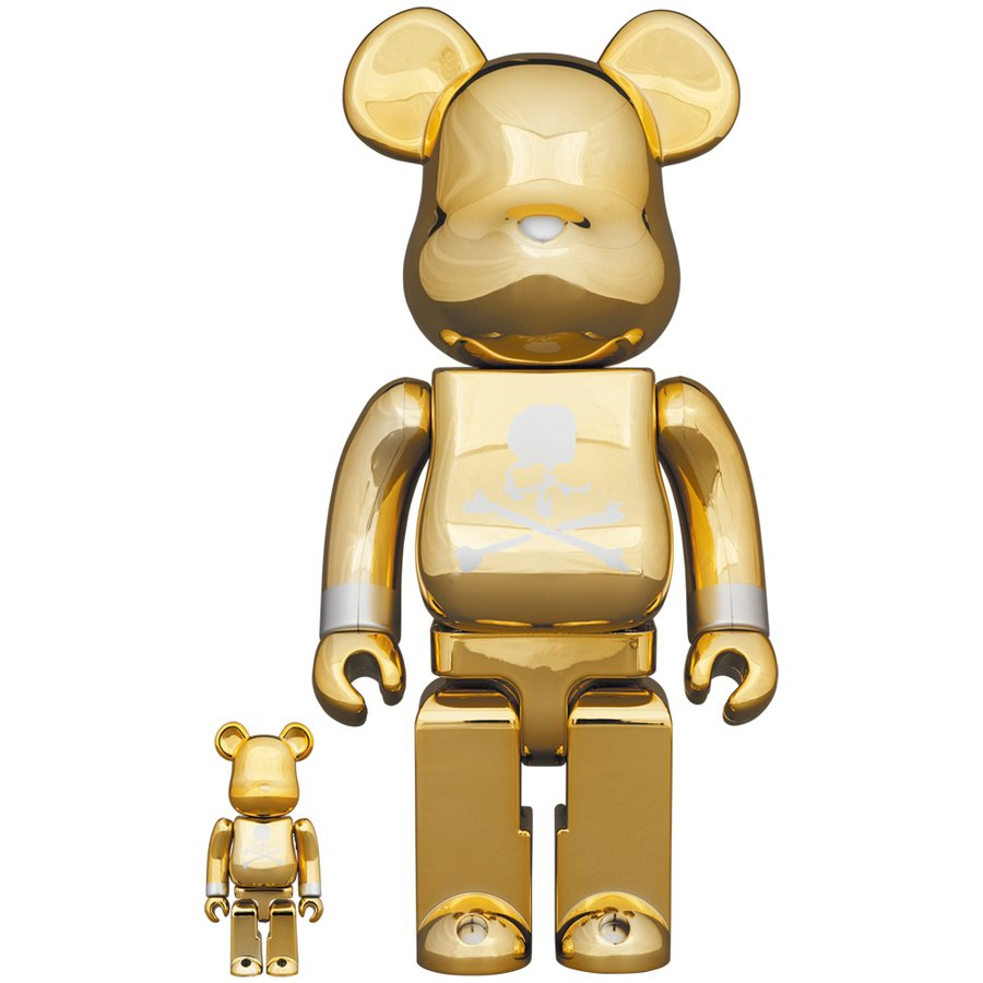 BE@RBRICK mastermind JAPAN GOLD 100% & 400%|project1-6