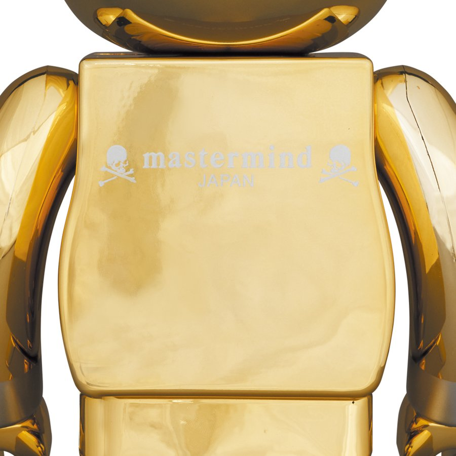 BE@RBRICK mastermind JAPAN GOLD 100% & 400%|project1-6|02
