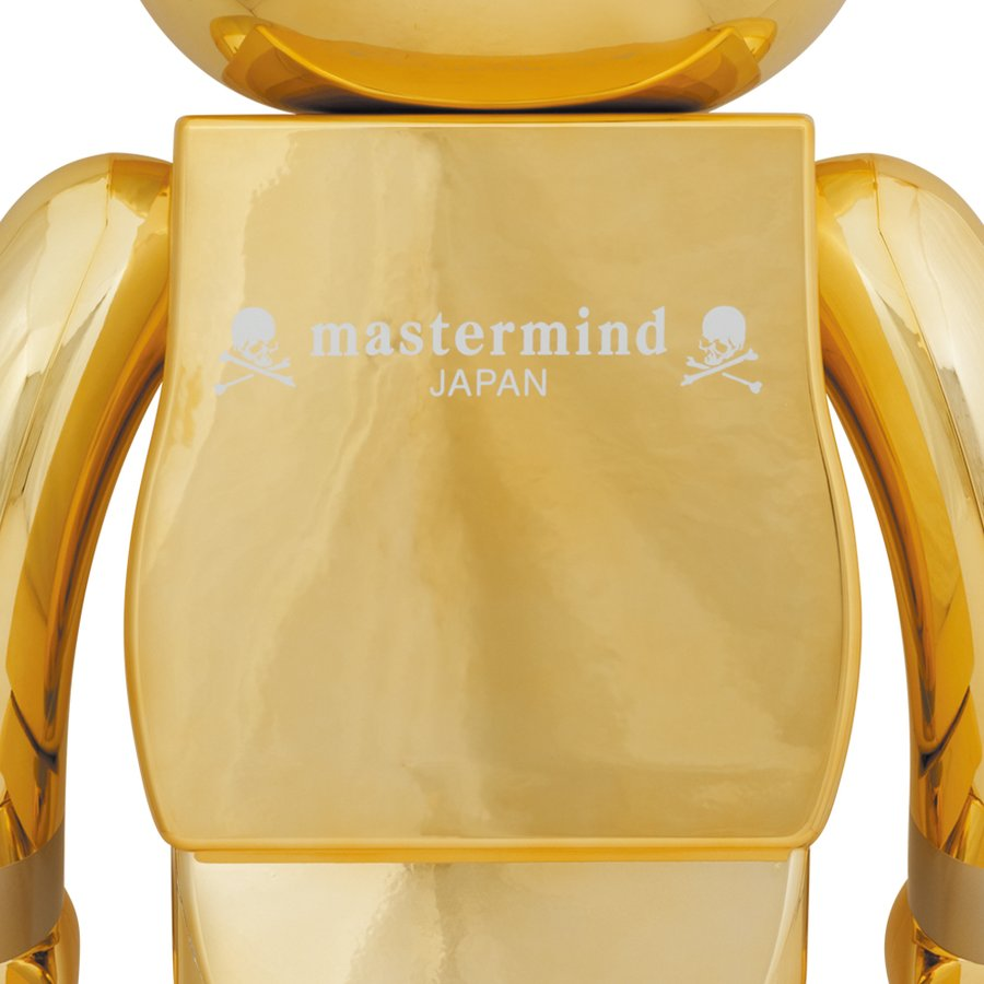 BE@RBRICK mastermind JAPAN GOLD 1000%|project1-6|02