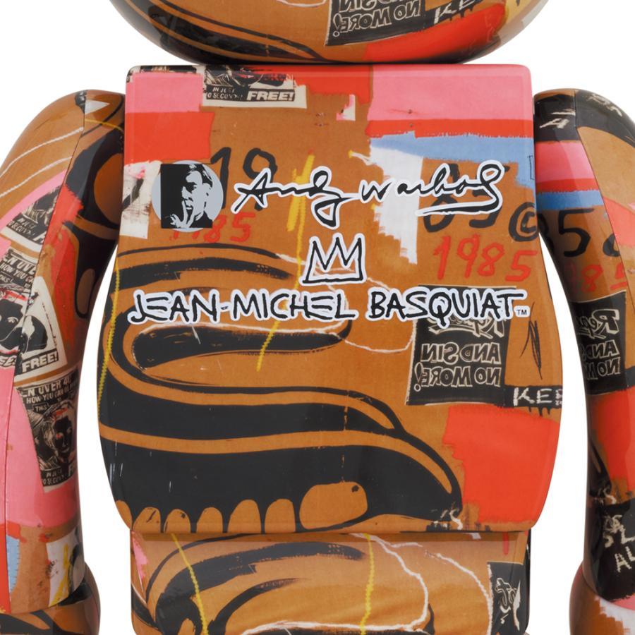 BE@RBRICK Andy Warhol × JEAN-MICHEL BASQUIAT #2 1000% project1-6 02
