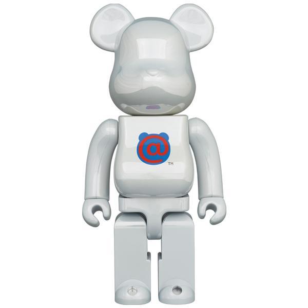 BE@RBRICK 1st MODEL WHITE CHROME 400% project1-6