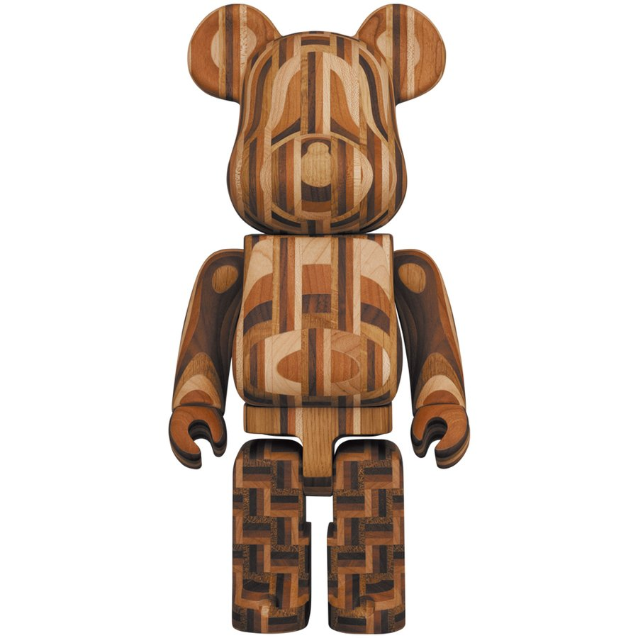 BE@RBRICK カリモク 寄木 2nd 400%|project1-6